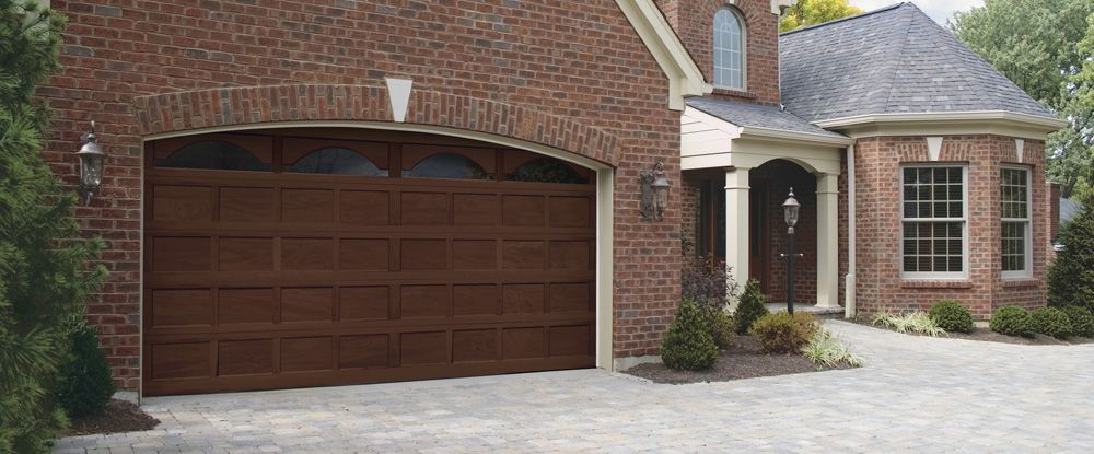 Classic Wood garage doors by Clopay