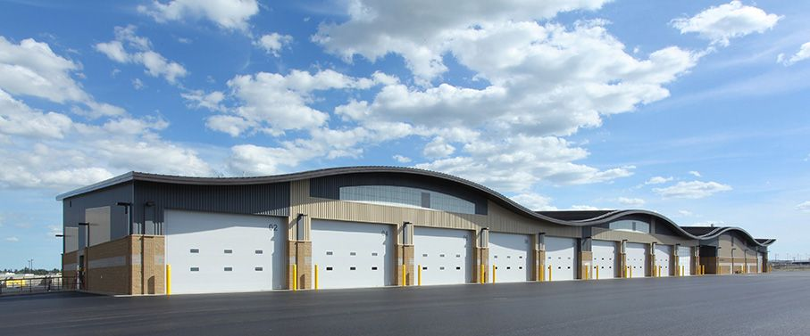 Polyurethane Insulated commercial doors by Clopay